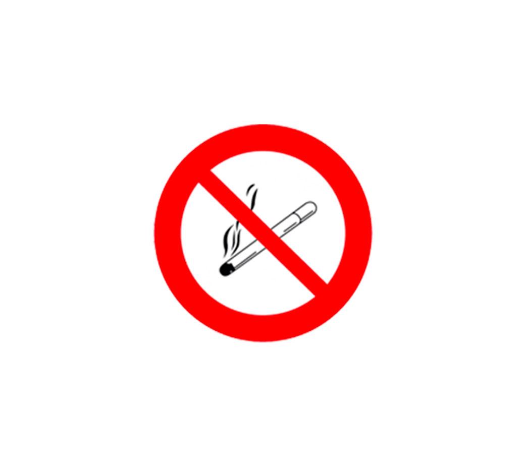 señal prohibido fumar online